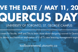 May 11, 2018 Quercus Day