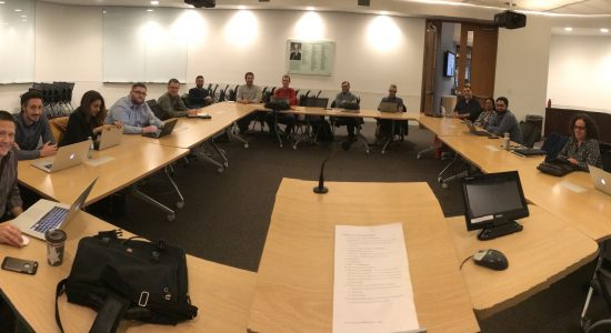 Technical Working Group photo of participants in a meeting room